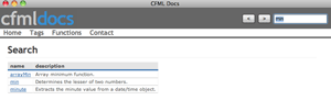 AIr-Applikation CFML-Docs