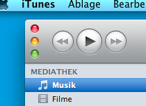 Window-Control-Buttons in iTunes 10
